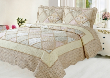 Покрывало Patchwork lace 153302 - интернет магазин Alltex