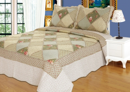 Покрывало Patchwork lace 153305 - интернет магазин Alltex